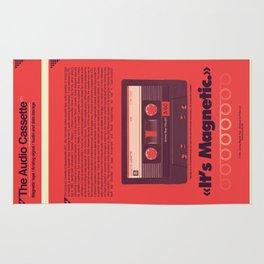 Audio Cassette Rug