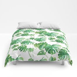 Topical Leaves Comforters