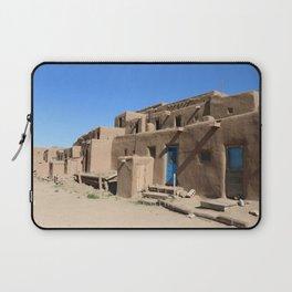 Taos Pueblo Village Road Laptop Sleeve