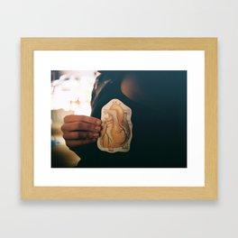 from the heart Framed Art Print