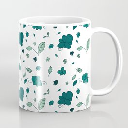 Flowers and leaves Coffee Mug