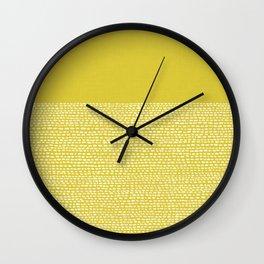 Riverside(Yellow) Wall Clock