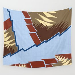 AGONDA Art Deco Modern: BIG SKY RANCH Wall Tapestry