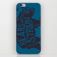 Bears Any Strain iPhone & iPod Skin