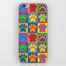 Pop Art Paws iPhone Skin