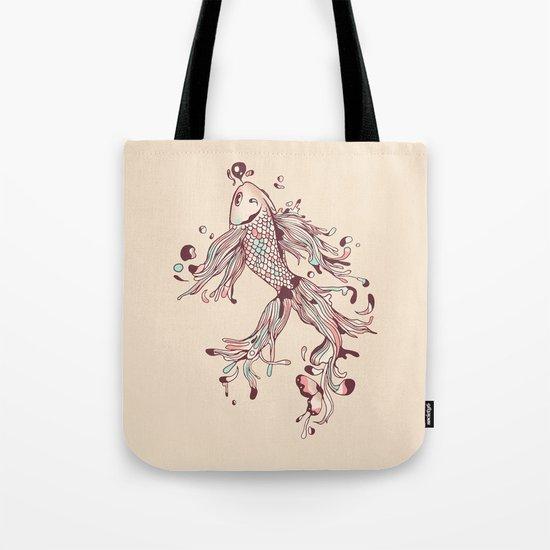 Flowing Life Tote Bag