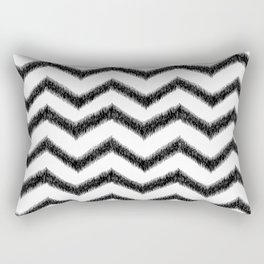 Ikat Chevron Rectangular Pillow
