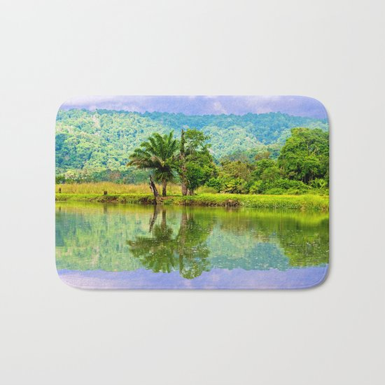 RIVER MIRROR Bath Mat