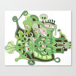 reptilian retina Canvas Print