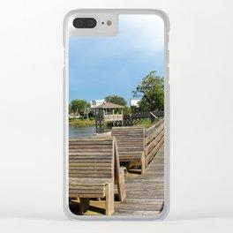 Riverview Park #2 Clear iPhone Case