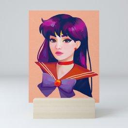Sailor Mars Mini Art Print