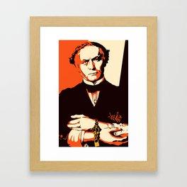 Houdini Framed Art Print