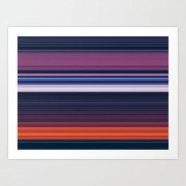 Dusk Machine Art Print