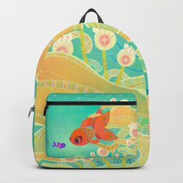 The golden meeting Backpack