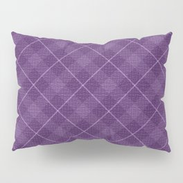 PURPLE DIAMOND Pillow Sham
