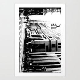 NYC Streetview Art Print