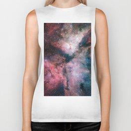 The Carina Nebula Astrophotography Space Art Biker Tank