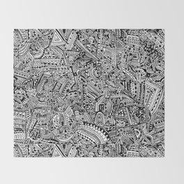 Organized Chaos Throw Blanket
