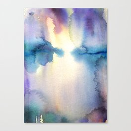 The Light's Reflection Canvas Print