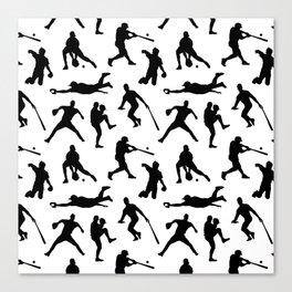 Baseball Players Canvas Print