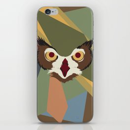 Owl Abstract iPhone Skin