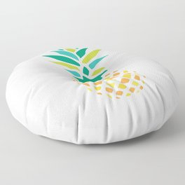 Summer Pineapple Floor Pillow