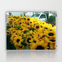 Farmer's Market Flowers Laptop & iPad Skin