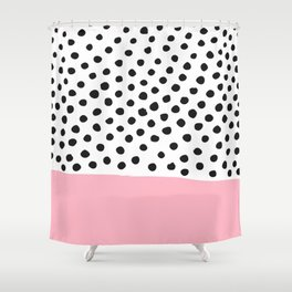 Conect the dots Shower Curtain