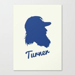 Justin Turner Canvas Print