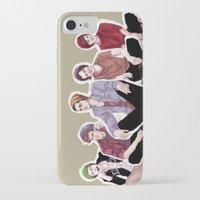 "band iPhone & iPod Cases featuring "" Beanie Band "" by Karu Kara"
