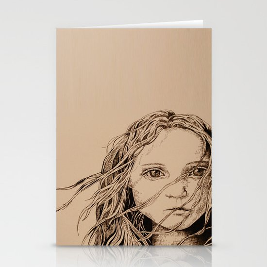 The Colour of Despair  Stationery Cards