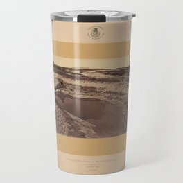 Geological Exploration of the Fortieth Parallel (1869) - Hot Spring, Ruby Valley, Nevada Travel Mug