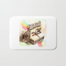 Vintage gadget series: Polaroid SX-70 OneStep camera Bath Mat