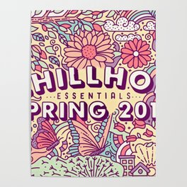 CHILLOUT--SPRING Poster