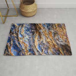 Colorful Layers of Rock  Rug