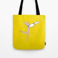 Yellow Spoon Tote Bag