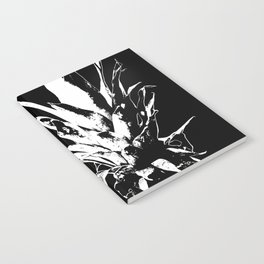 Pineapple Black and White #decor #society6 Notebook