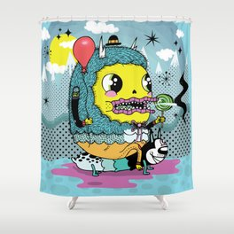 See You On The Other Side Shower Curtain