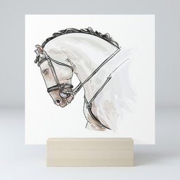 Spanish Horse Mini Art Print
