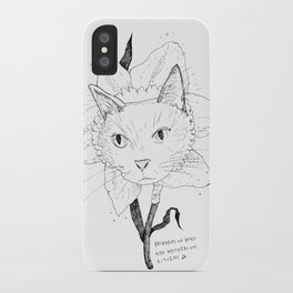 Catffodil iPhone Case
