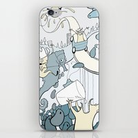 milk iPhone & iPod Skins featuring Milk by Anna Savva