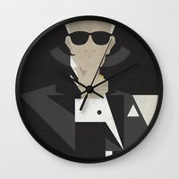 karl Wall Clocks featuring Karl by B_U_R_T