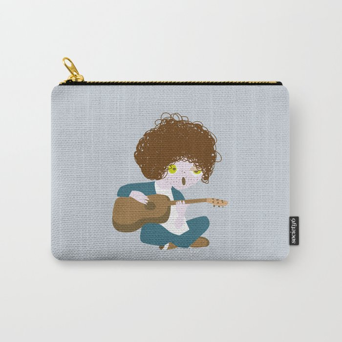Curly Bob Carry-All Pouch