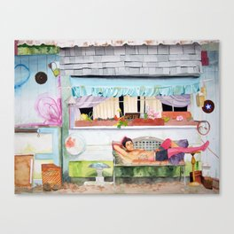 Chinchilla Canvas Print
