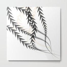 Abstract Arrow Metal Print