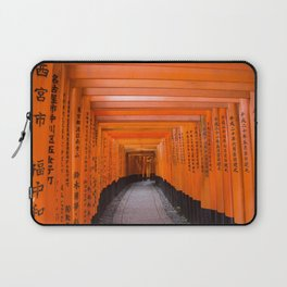 Japan Travel Photo - Fushimi Inari Shrine Laptop Sleeve