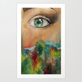 Vivid Art Print