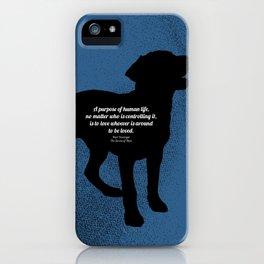 The Purpose iPhone Case