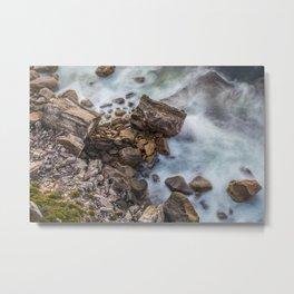 Rock Flow #1 Metal Print