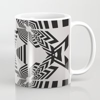 labyrinth Mugs featuring Labyrinth by 13Halliwell